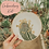 Thumbnail: Saguaro Blooms Embroidery Kit