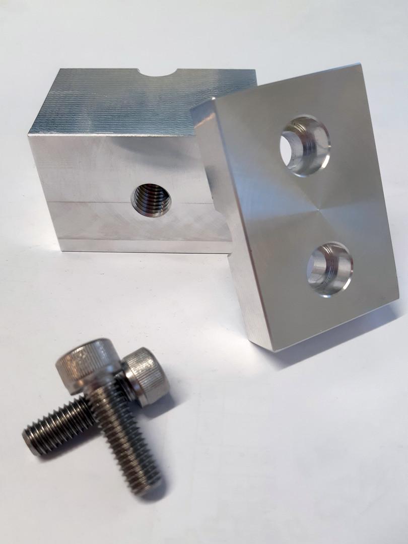 Aluminium 2 Piece Clamp