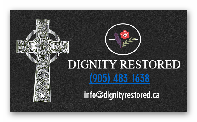 Gravestone Cleaning Service