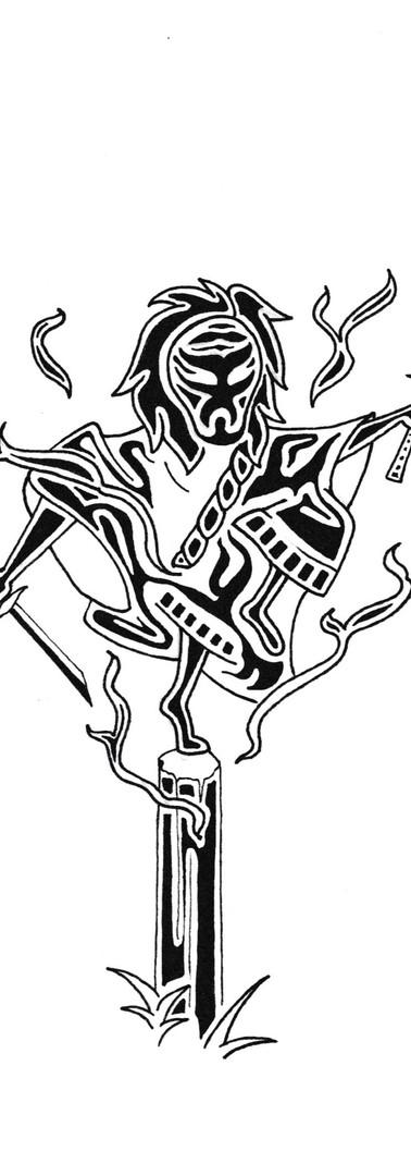 """Dancing Demon"""