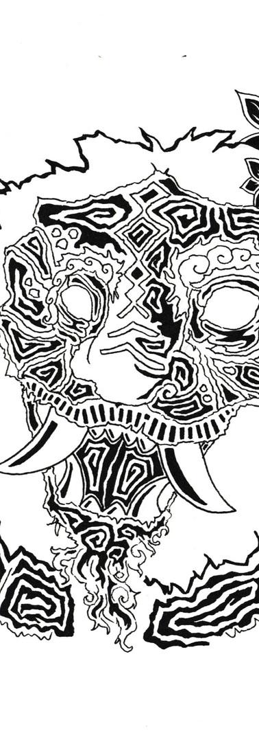 """""""Namahage/ Mask"""""""