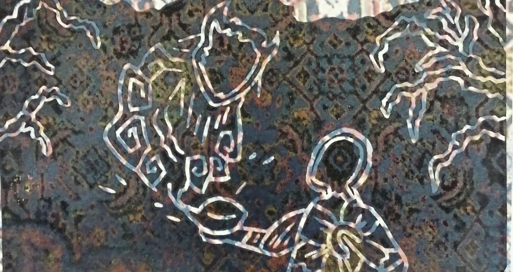 Genie (Black/carpet background)