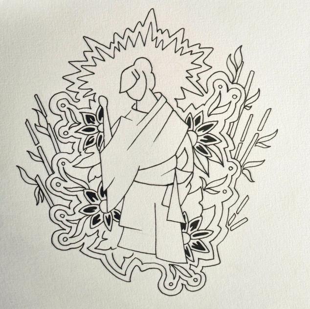 Flower Geisha