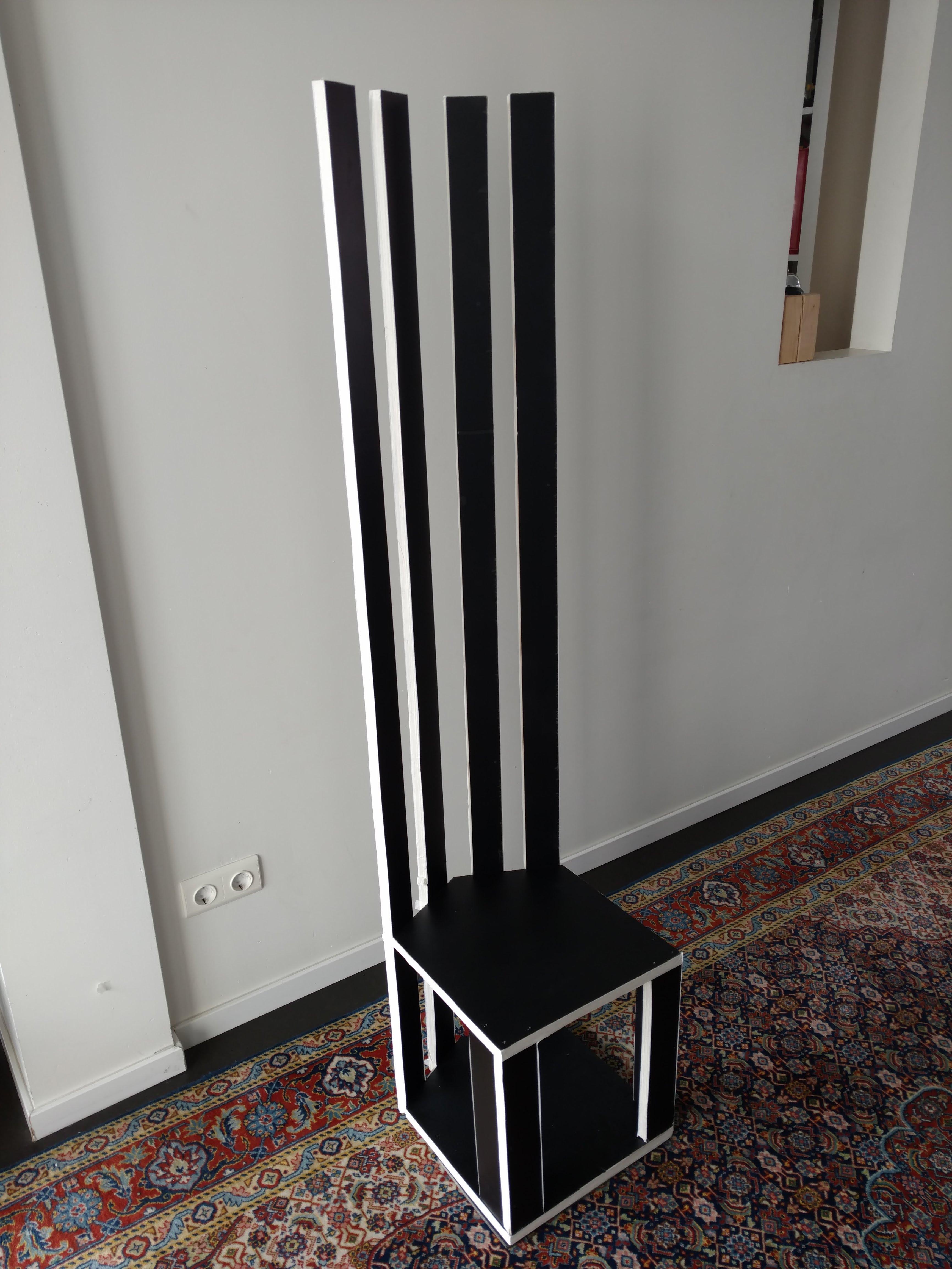 Mackintosh - inspired chair