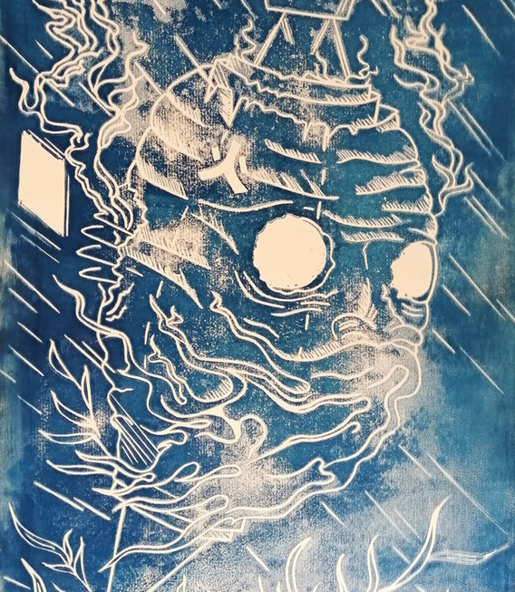 Ghostlantern (blue)
