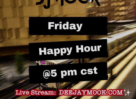 Friday Happy Hour @5 cst