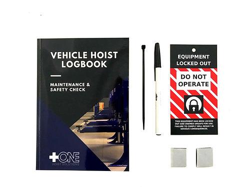 Vehicle Hoist Log Book