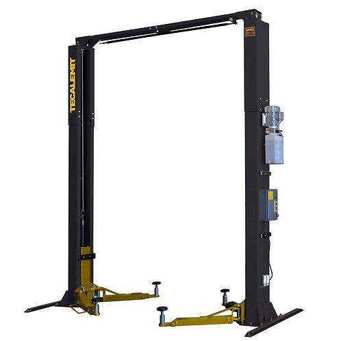 TECB242C - 4.2 Tonne 2 Post Clear Floor Hoist