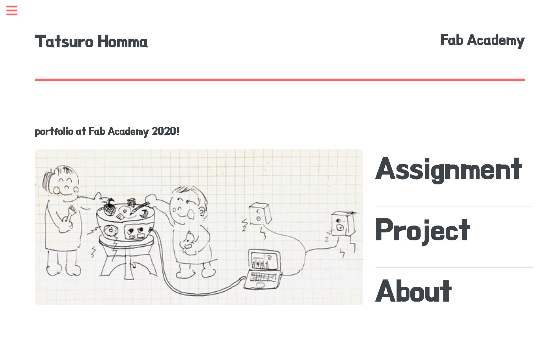 Fab Academy(本間先生)