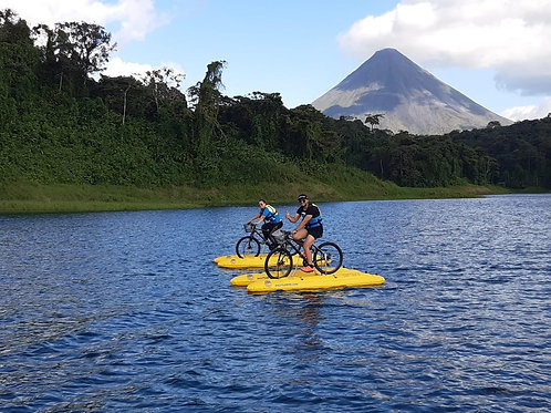 Water Bike Tours - 2 personas en 25,000 colones (precio regular del tour 20,000