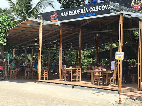 Marisquería Corcovado: Café Capuccino de cortesía ó un batido