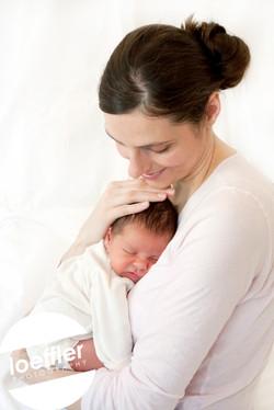 Nouveau-né et maman
