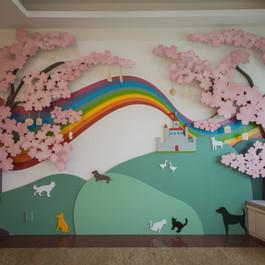 彩虹城堡 寵物存放惜愛廳