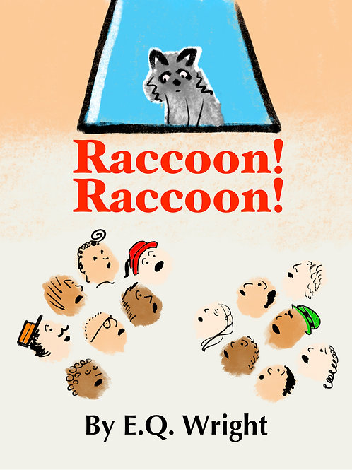 Raccoon! Raccoon! (personalized autograph picture book)