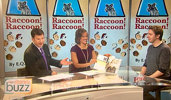E.Q. Wright, Raccoon Raccoon, #mprraccoon, FOX 9