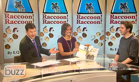 E.Q. Wright, Raccoon Raccoon, #mprraccoon, FOX 9