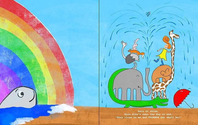 Ella's Umbrella by EQ Wright page 31-32