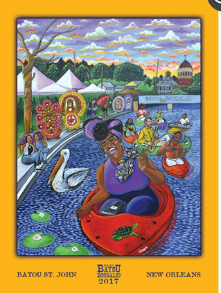 12th Annual Mid-City Bayou Boogaloo Poster