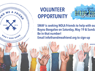 Seeking Volunteers for Wed at the Square & Bayou Boogaloo