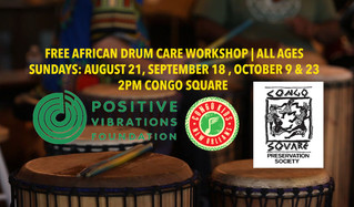 African Drum Care Workshops