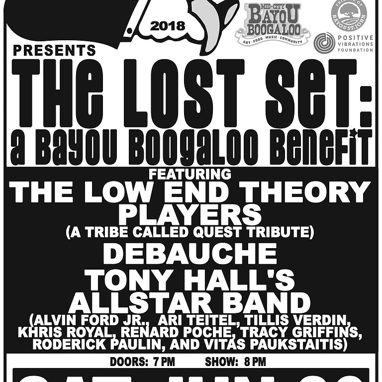 The Lost Set: A Bayou Boogaloo Benefit