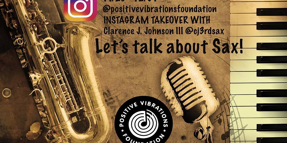 instagram takeover with Clarence Johnson III