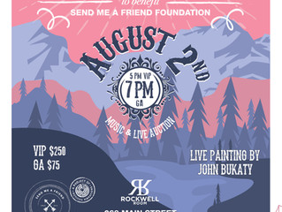 An Intimate Evening with Anders Osborne & Luther Dickinson to benefit Send Me A Friend hosted by