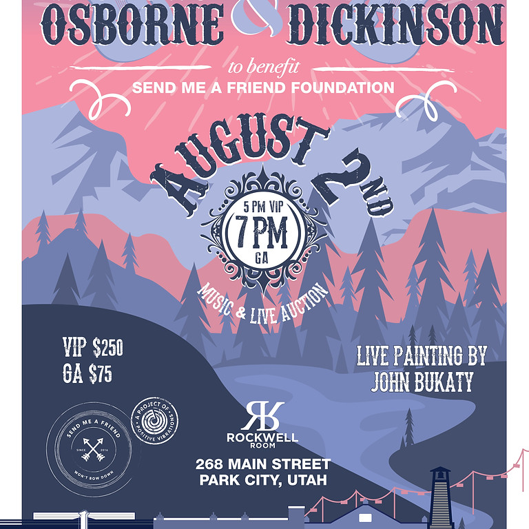 An Intimate Evening with Anders Osborne & Luther Dickinson to benefit Send Me A Friend