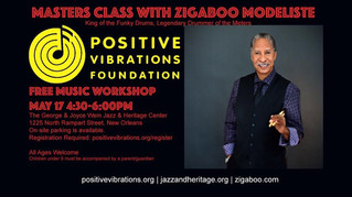 Masters Class With Zigaboo Modeliste