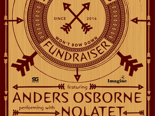 "Anders Osborne performing with Nolatet to benefit ""Send Me a Friend,"" Friday May 4, 2018"
