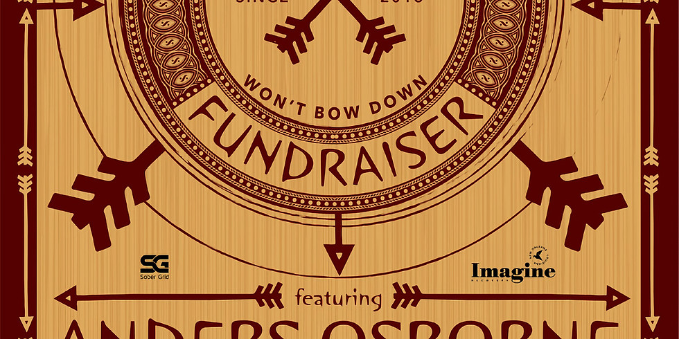 """ANDERS OSBORNE PERFORMING WITH NOLATET TO BENEFIT """"SEND ME A  FRIEND"""""""