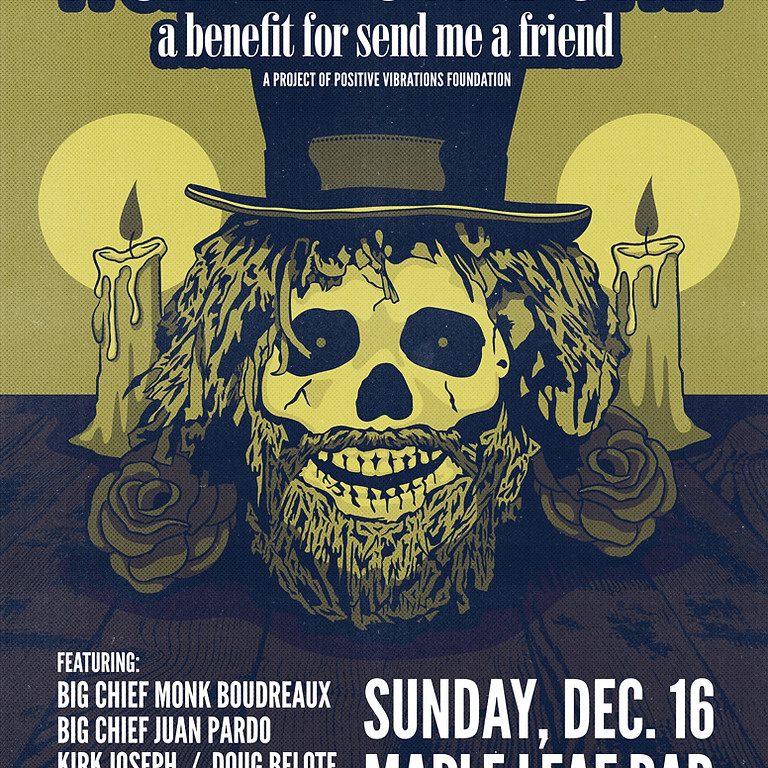 Anders Osborne's Won't Bow Down benefiting Send Me A Friend