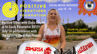 Positive Vibes with Daria from St Lucia Panorama