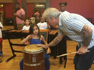 Mike Dillon + Upturn Arts Summer Music Camp