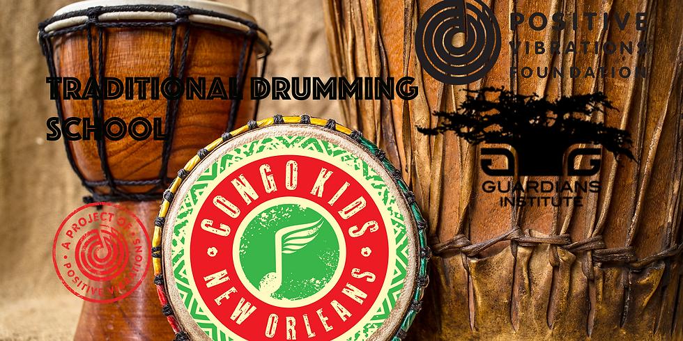 Congo Kids Drumming School