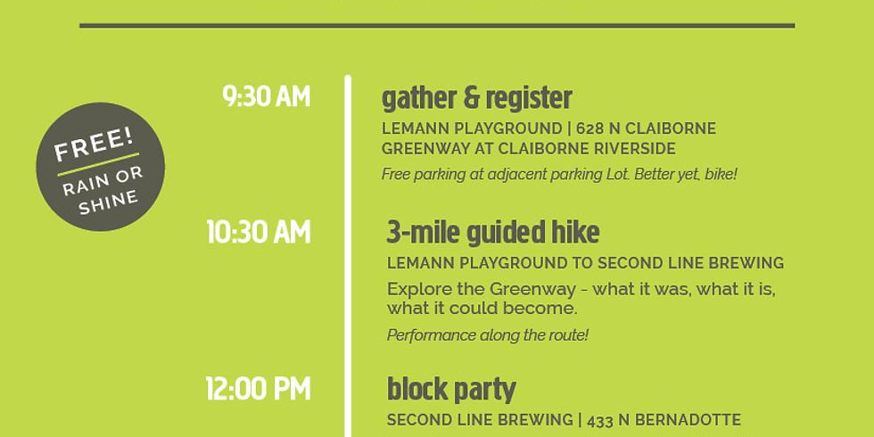 Hike the Lafitte Greenway