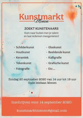 KUNSTMARKT MENEN 20/09/20