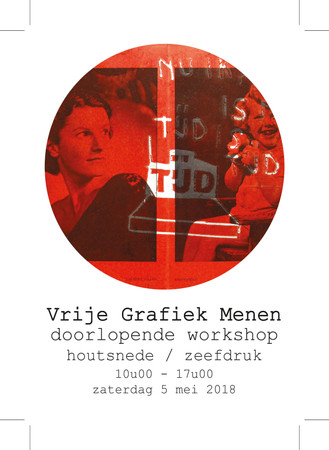 DRUKDRUKDRUK | WORKSHOP GRAFIEKKUNST 05/05/2018