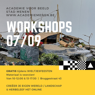 WORKSHOPS // het landschap  07/09