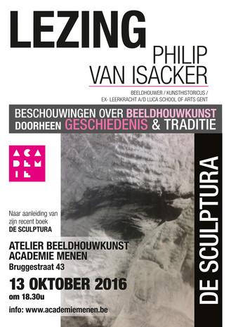 13/10 | Lezing  PhiliP Van ISACKER