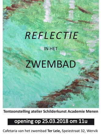 EXPO | REFLECTIE in het ZWEMBAD OPENING zo 25/03/2018 om 11u | Wervik