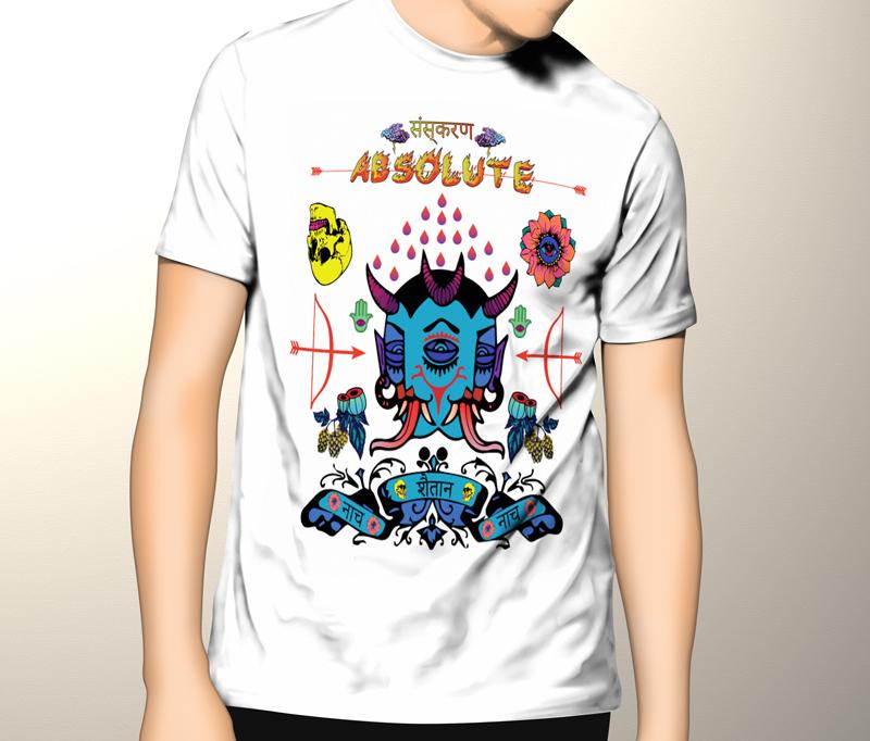 Shaitaan-T-shirt-mock