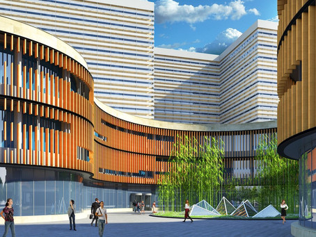 Work begins on Asia's Largest Healthcare Development!
