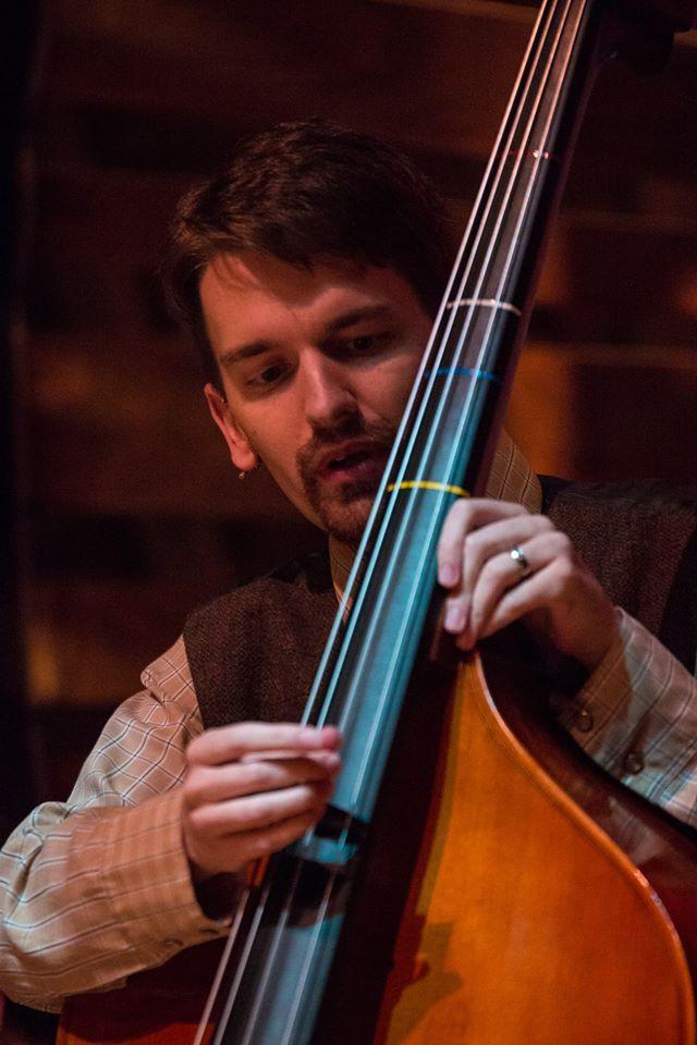 Brian playing upright bass