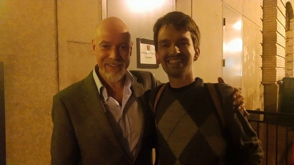 Brian meets Anthony Warlow