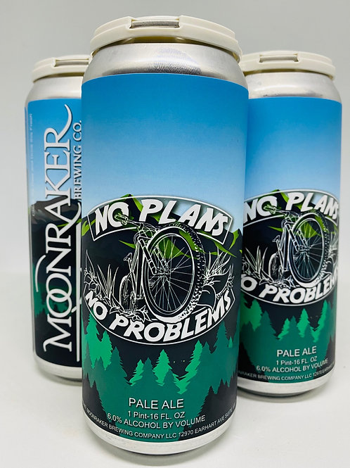 No Plans No Problems (Mountain Bike) - 4 pack