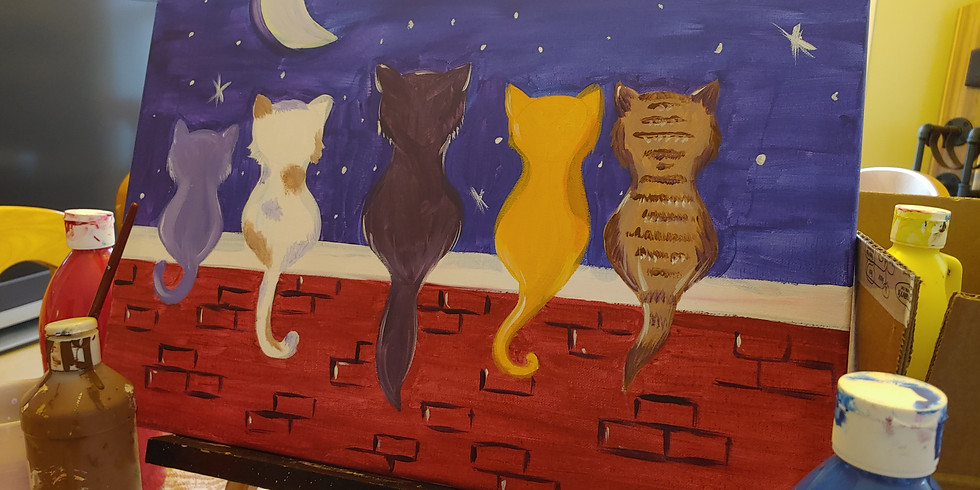 Cats and Canvas - August