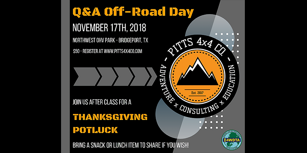 Q&A Off-Road Day