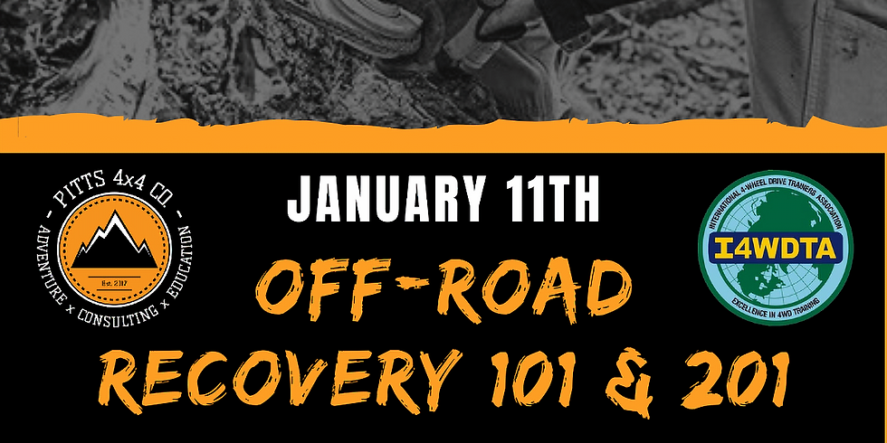 Off-Road Recovery 101 & 201