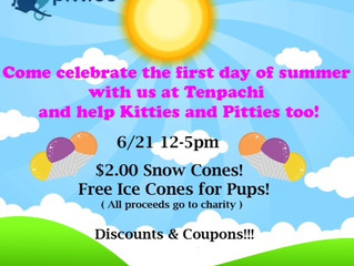 Celebrate the first day of summer with us!